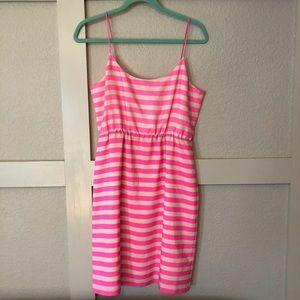 J. Crew Striped Mini Dress